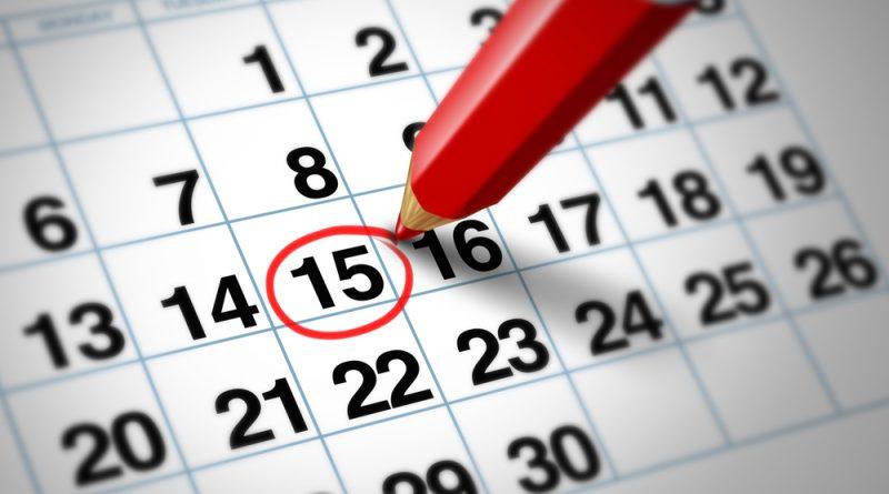 Casse ed Appuntamenti. Settimana dal 22 AL 28 Ottobre