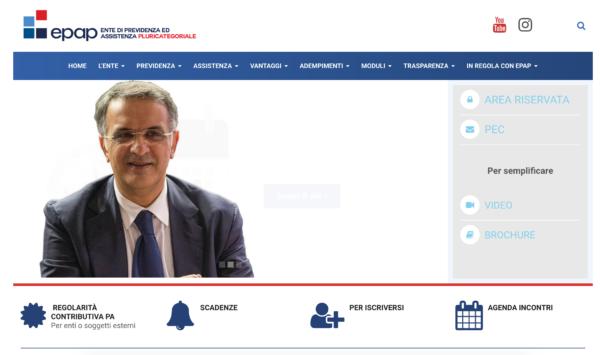Linearità, trasparenza e partecipazione. Il nuovo sito Epap