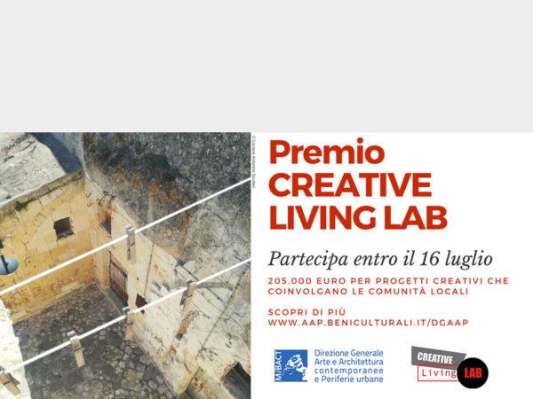 Premio Creative Living Lab. Intervenire sulle periferie? C'è tempo fino al 16 luglio
