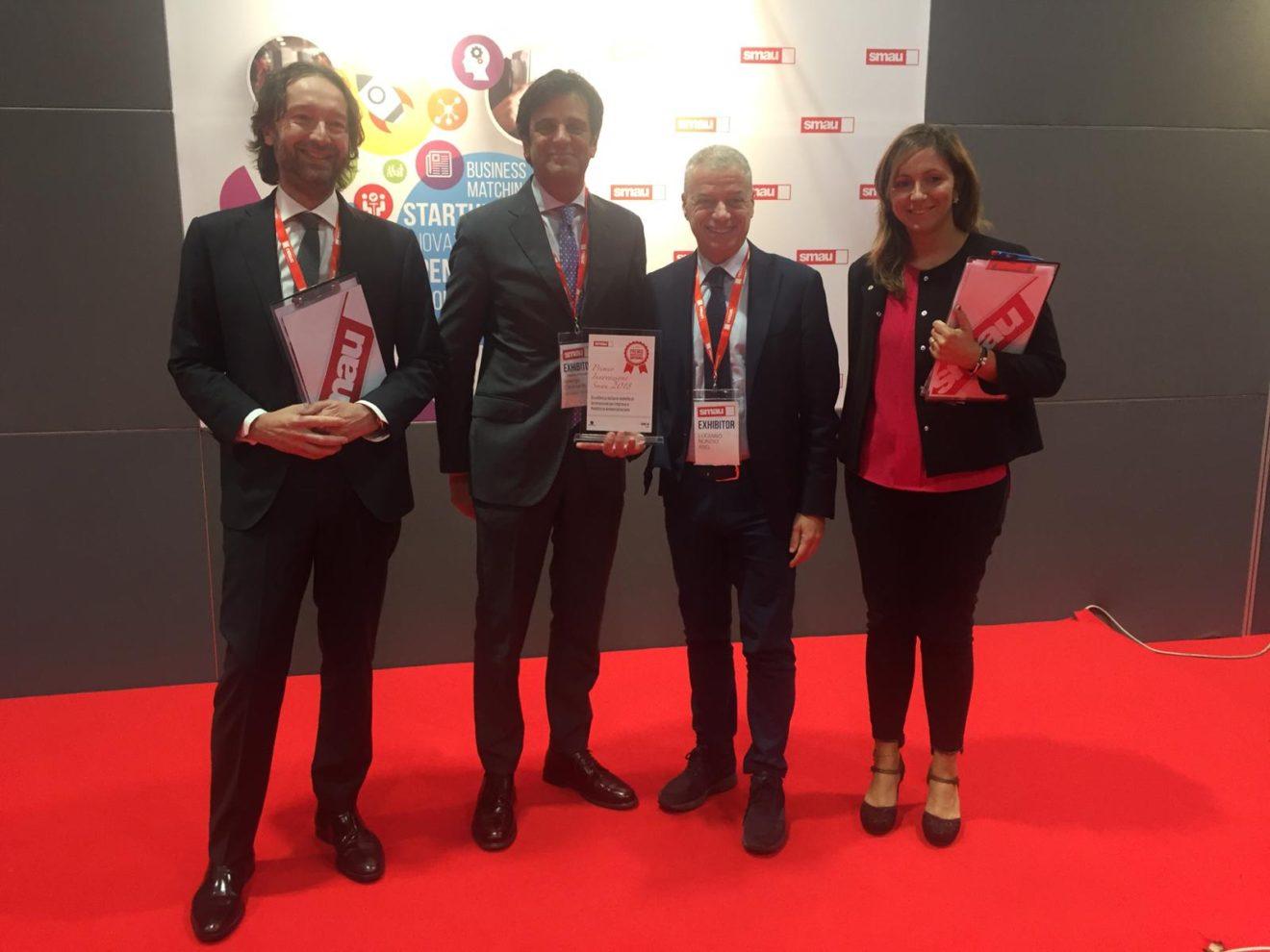 Cassa Forense ha ricevuto il Premio Innovazione Smau 2018