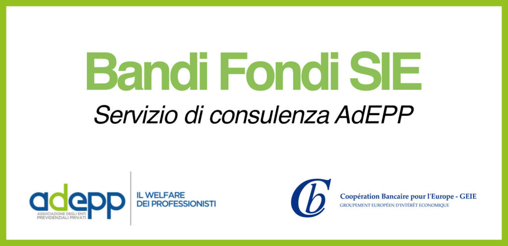 Bandi Fondi SIE logo